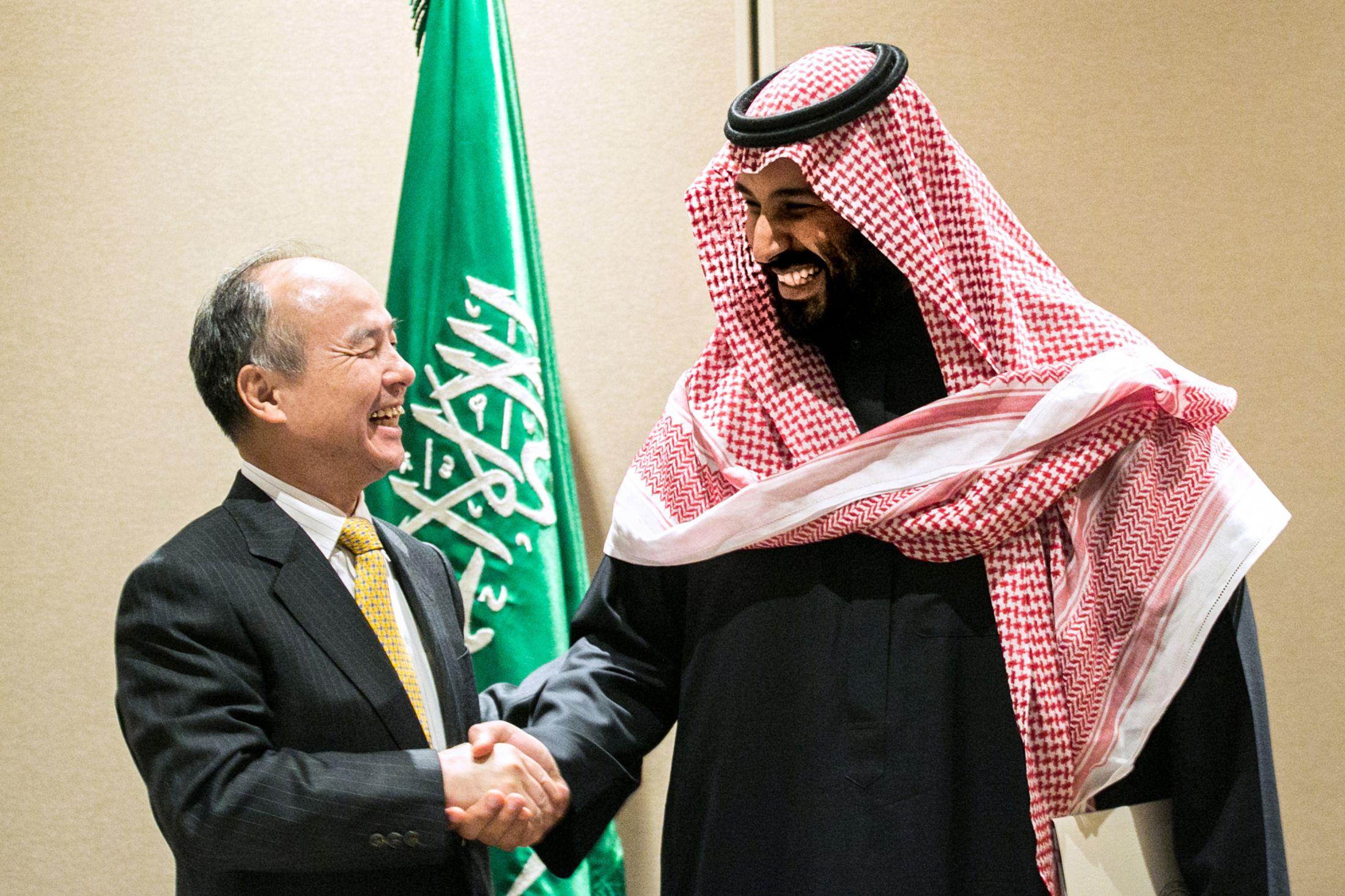 Saudi Arabia Doubles Down on SoftBank Bet With Extra $45 Billion