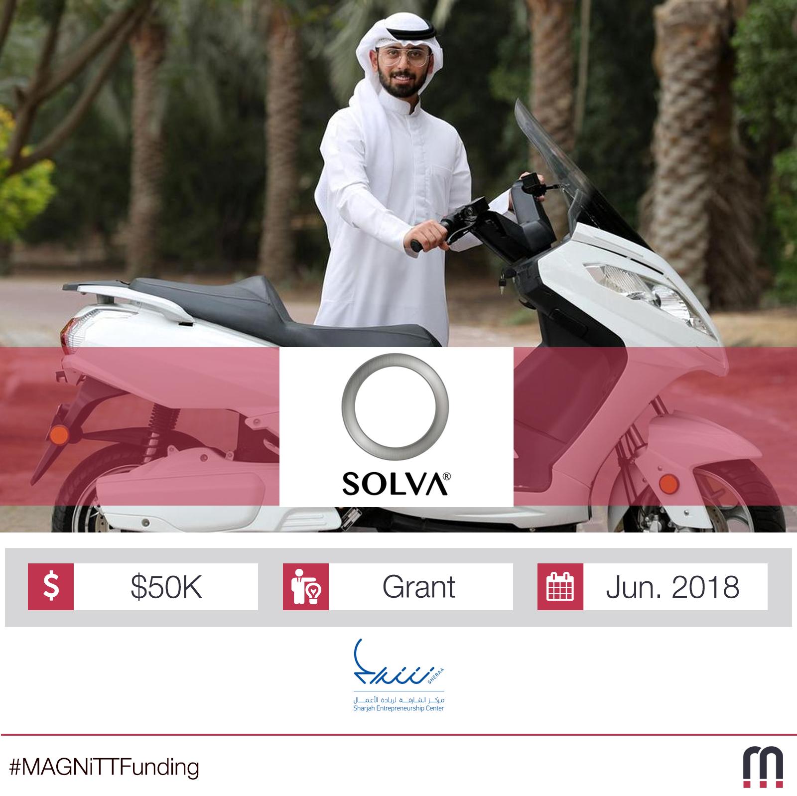Sheraa awards $50,000 grant to tech startup Solva Technologies