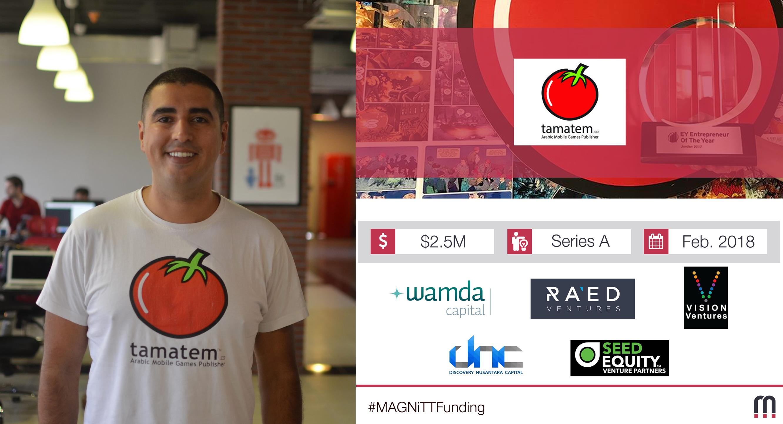 Jordanian Startup Tamatem raises $2.5M Series A to localise games for Arabic-speaking market