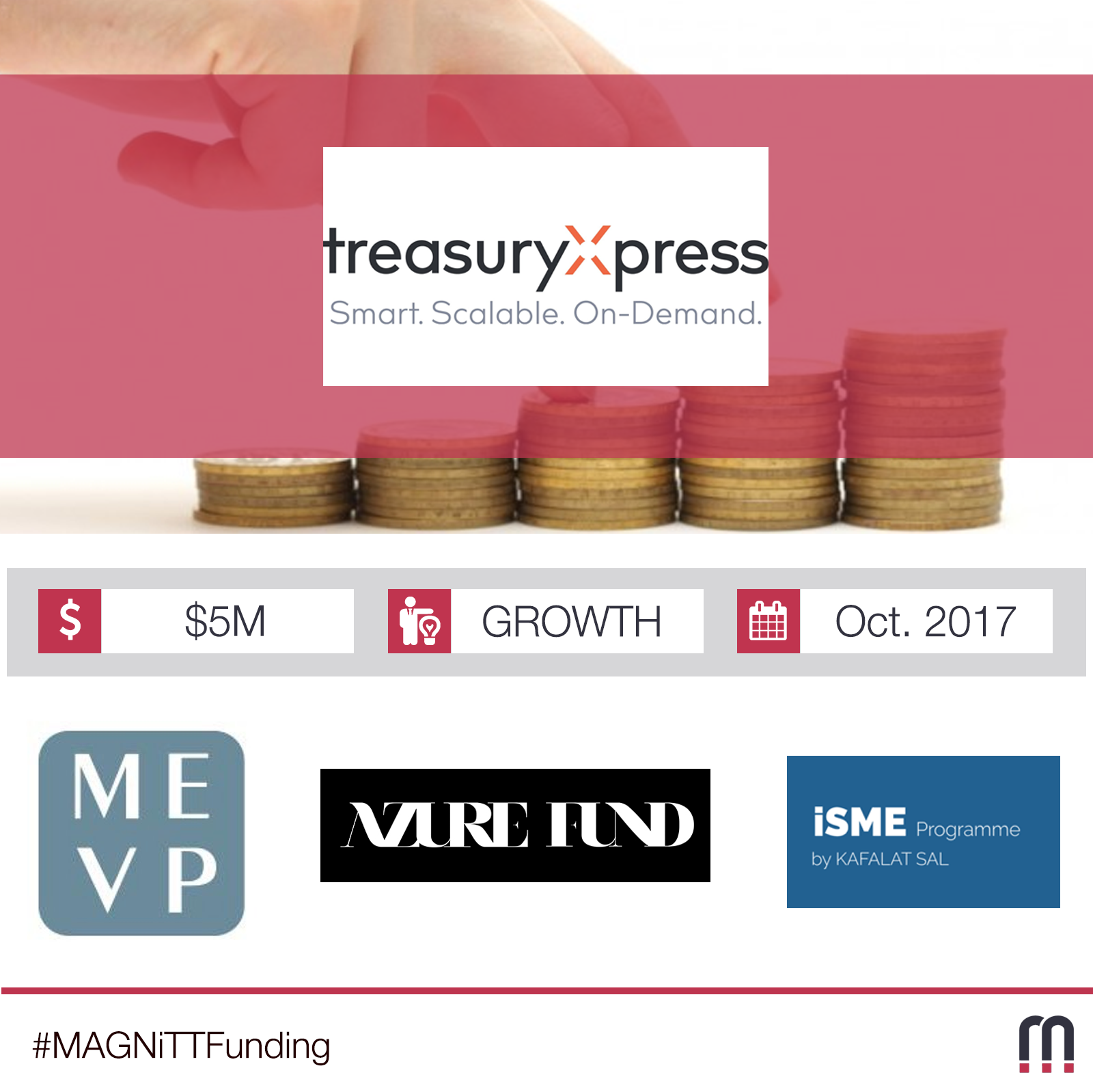 TreasuryXpress Receives Major Growth Investment