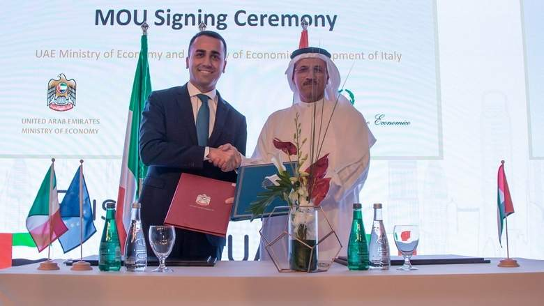 UAE and Italy sign MoU focusing on innovation for SMEs and startups