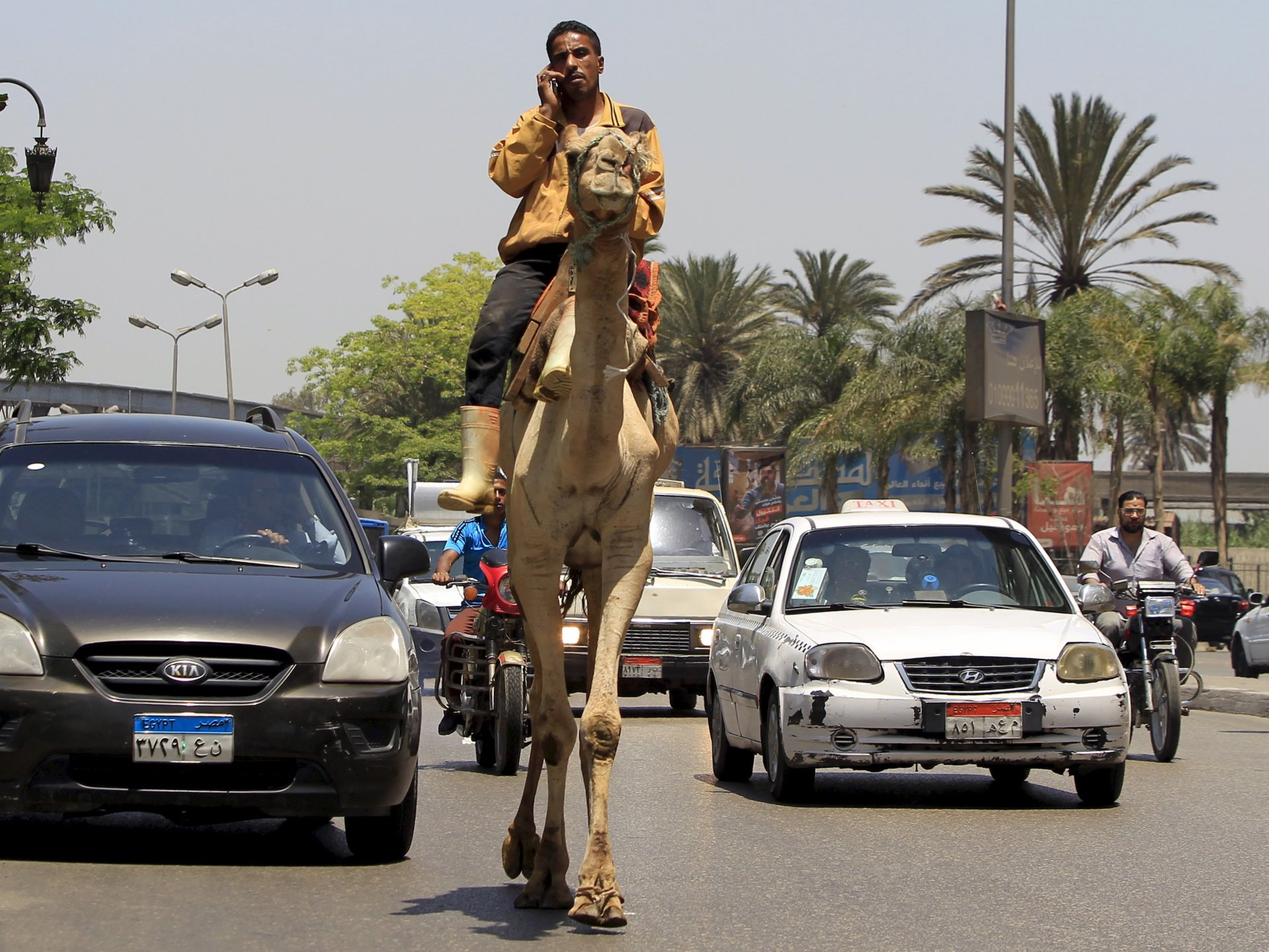Uber is locked in a battle to fix Egypt's $8 billion traffic problem, and its success could decide which tech giant will dominate the Middle East and Africa