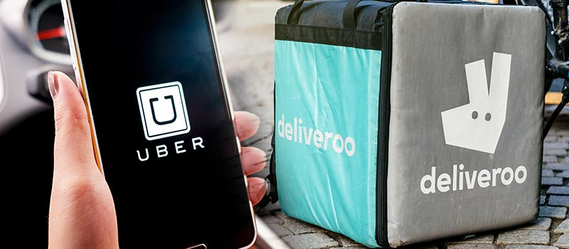 Uber Is in Early Talks to Buy Europe's Deliveroo
