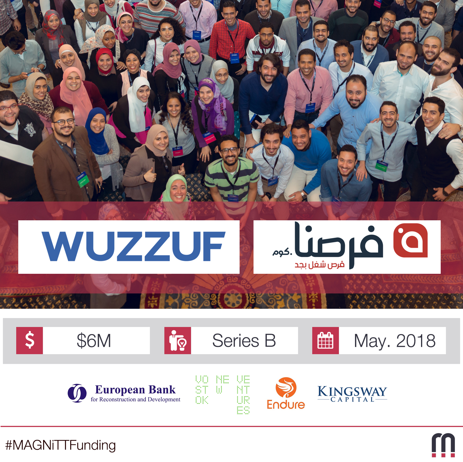 Egypt-based recruiting platforms Wuzzuf and Forasna raise Egypt's largest Series B Round at $6M