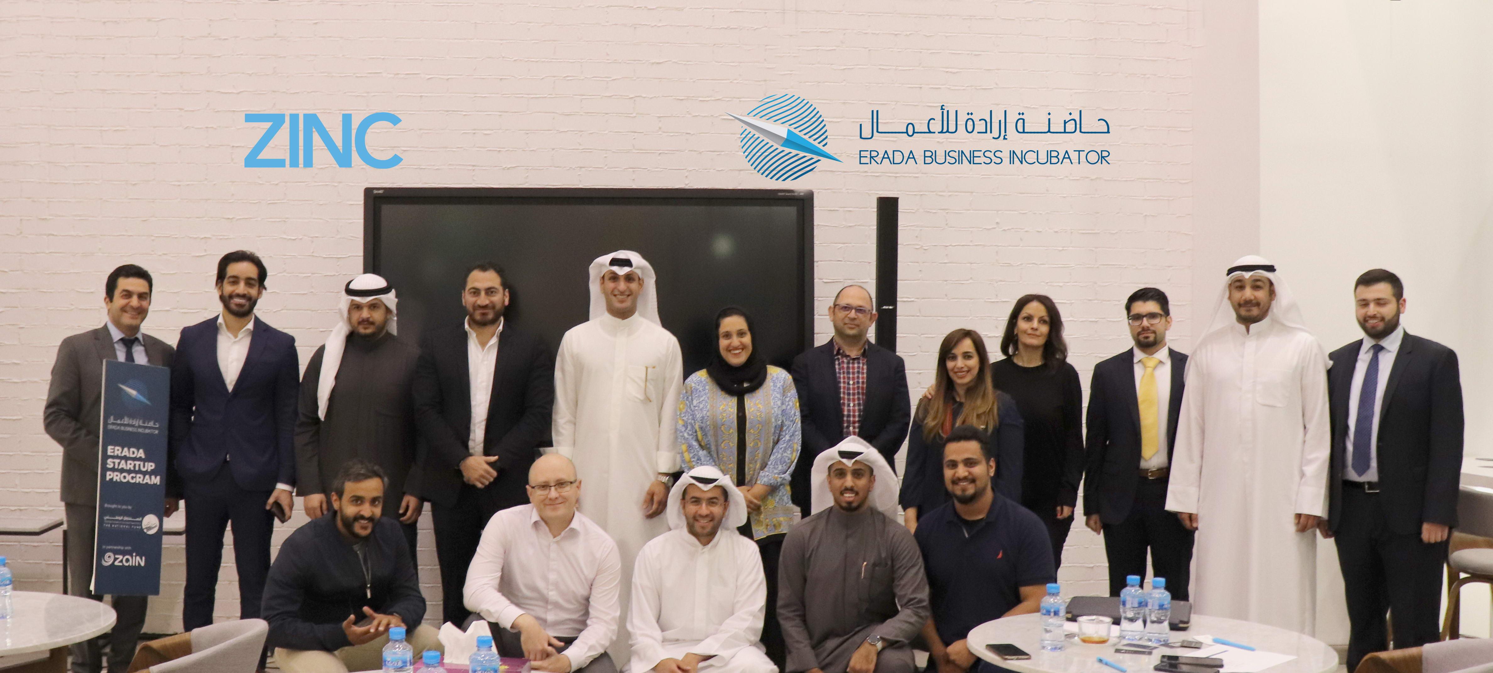 Six Kuwaiti startups pitch at Erada Business Incubator program held at ZINC